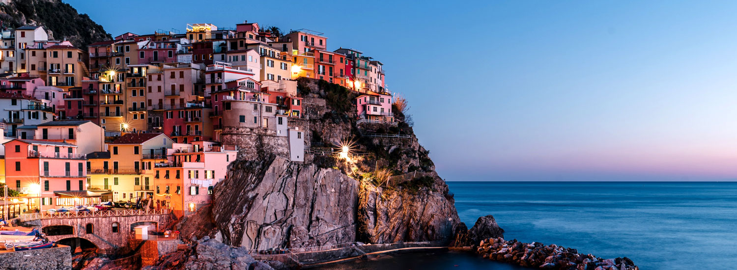 Tours to Cinque Terre in Liguria Italy