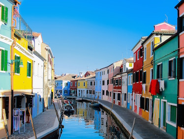 Murano and Burano Escorted Tour