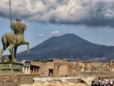 Rome To Pompeii and Mount Vesuvius By High Speed Train