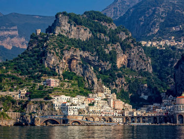 Amalfi Coast Naples and Pompeii