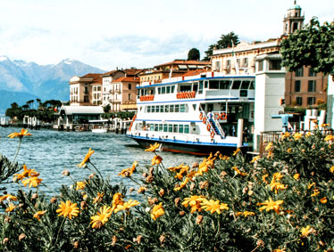 Private tour to the Lake Como by visiting the cities of Como and Bellagio.