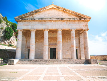 Shore excursions Greece - Achilleion Palace and Corfu