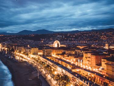 Shore excursions France - Cannes, Nice, Monte Carlo or Villefranche