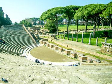 Ostia Antica-Harbor City of Ancient Rome