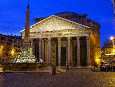 Rome At Night Half-Evening Tour