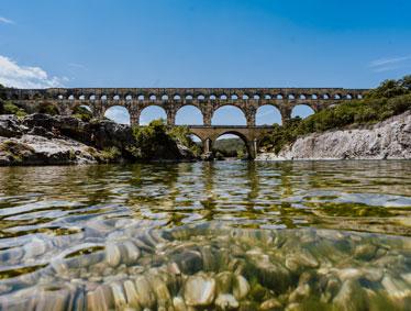 Shore excursions France - Avignon, Chteauneuf du Pape and Pont du Gard