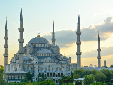 Shore trips Istanbul - The Blue Mosque & Topkapi Palace