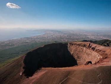 Mt. Vesuvius Half Day Small Group 8 pax