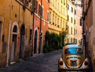 Rome Trastevere and the Jewish Ghetto