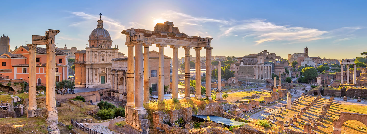 There is only one place in the world to walk through ancient ruins like these ... where? <a href='rome'>Click!</a>
